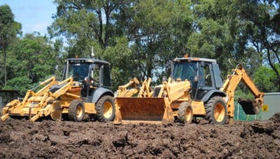 Conduct backhoe/loader operations