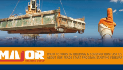 get a start in the construction industry